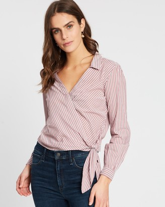 Abercrombie & Fitch Preppy Wrap Shirt
