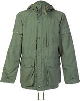 Engineered Garments zipped hooded jacket