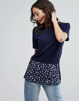 Warehouse Top With Polka Dot Panel