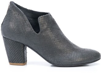 Officine Creative Julie snake effect boots