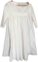 Cos White Cotton Dress for Women