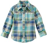 Osh Kosh Boys 4-7 Plaid Button-Down Shirt