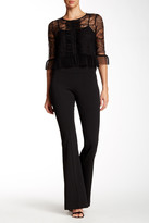 ABS by Allen Schwartz Skinny Flare Crepe Pant