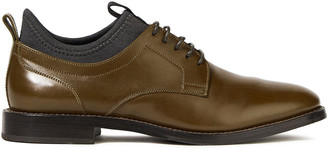 Brunello Cucinelli Neoprene And Leather Brogues