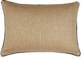 Patch NYC Burlap Pillow-TAN