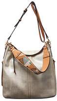 Sondra Roberts Squared Shoulder Hobo Bag