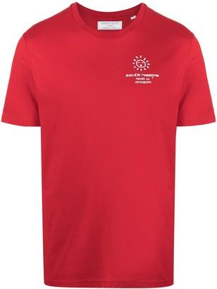 Societe Anonyme logo print short sleeved T-shirt
