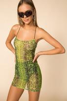 superdown Sheer Mini Dress