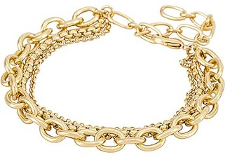 Amber Sceats Layered Chain Bracelet