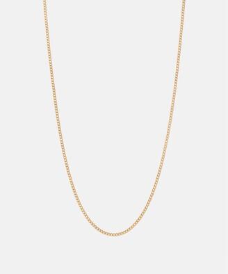 Miansai 2mm Chain Necklace in Gold Vermeil
