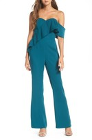 Adelyn Rae Women's Amelia Strapless Jumpsuit