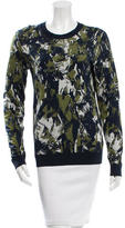 Jason Wu Metallic Patterned Sweater