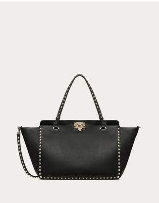 Valentino Garavani Medium Grain Calfskin Leather Rockstud Bag