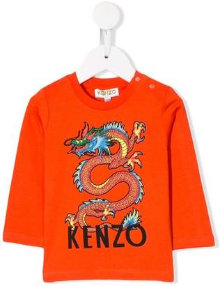 Kenzo Dragon logo top