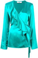 Area ruffle-front blouse - women - Silk - 32