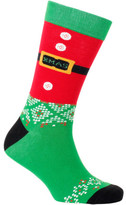 Mitch Dowd SANTA SUIT CREW SOCK