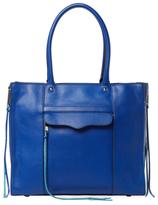 Rebecca Minkoff M.A.B. Medium Leather Side Zip Tote