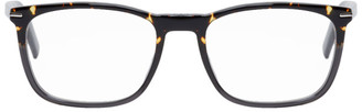 Christian Dior Tortoiseshell and Grey BlackTie265 Optical Glasses