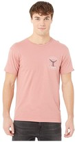 Salty Crew Fishstone Premium Short Sleeve Tee (Coral) Men's T Shirt