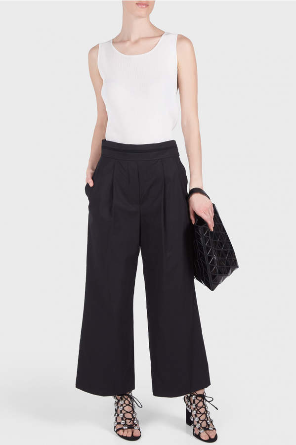 Alexander Wang Deconstructed Cropped Pants