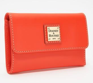 Dooney & Bourke Vachetta Leather Flap Wallet