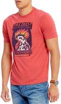 Daniel Cremieux Jeans Fire Crest Short-Sleeve Tee