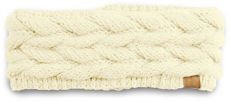 Sonoma Goods For Life Women's Braided Knit Headwrap with Sherpa Lining