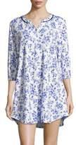 Karen Neuburger Floral-Print Sleepshirt