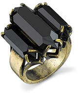 Low Luv x Erin Wasson BY ERIN WASSON Triple Crystal Cocktail Ring