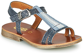 GBB LAZARO girls's Sandals in Blue