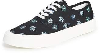 MAISON KITSUNÉ Paisley Laced Sneakers