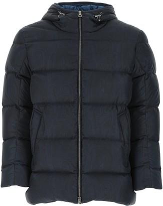 Etro Paisley Print Padded Zipped Jacket