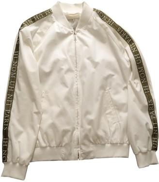 Ih Nom Uh Nit White Cotton Jackets