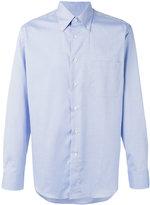 Canali plain shirt - men - Cotton - 41
