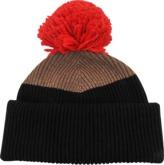 Inverni Tricolored wool beanie