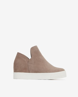 Express Steve Madden Wrangle Suede Sneakers