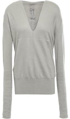 Rick Owens Cashmere Hooded Sweater