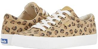 Keds Jump Kick Leopard (Tan/Black) Women's Shoes