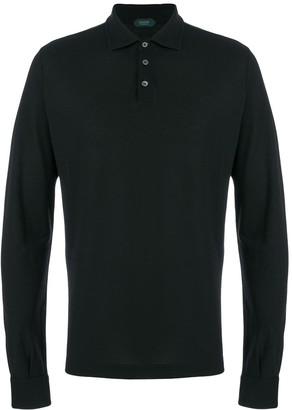 Zanone Long Sleeve Polo Shirt