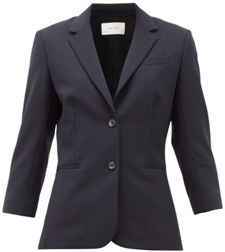The Row Schoolboy Wool-blend Blazer - Navy