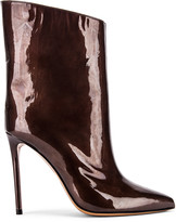 Alexandre Vauthier Alex Low Boot in Chocolate | FWRD