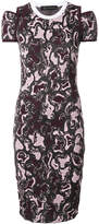 Versace knit printed dress