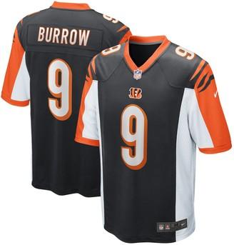 Nike Men's Joe Burrow Black Cincinnati Bengals 2020 NFL Draft First Round Pick Game Jersey
