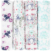 Aden Anais Aden + Anais Disney Bambi Baby Swaddle Blanket, Pack of 4