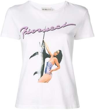 Fiorucci Swordfish print T-shirt