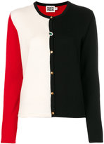 Fausto Puglisi colour block cardigan