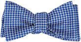 Penrose London Men's Houndstooth Silk Bow Tie