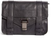 Proenza Schouler 'Mini Ps1' Lambskin Leather Crossbody Bag - Black