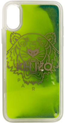 Kenzo Yellow and Green Glow-In-The-Dark iPhone X/XS Case