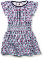 Tea Collection Monde Flutter Sleeve Dress (Toddler Girls, Little Girls, & Big Girls)